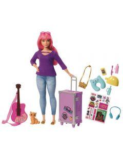 Barbie Explorar e Descobrir Daisy Mattel - FWV26 - Rosa