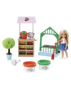 Barbie Horta da Chelsea FRH75 Mattel - Colorido
