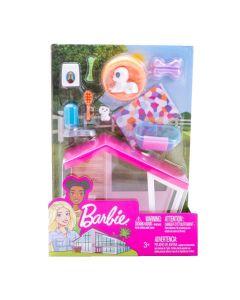 Barbie Móveis Básicos com Acessórios FXG41 Mattel - Animais