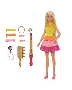 Barbie Penteado dos Sonhos Mattel - GBK24 - Amarelo