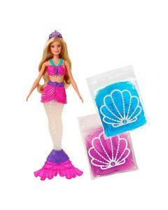 Barbie Sereia Slime Mattel - GKT75 - Colorido