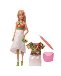 Barbie Surpresa de Frutas Crayola - Mattel - GBK18 - Colorido