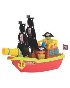 Barco Aventura Pirata Mercotoys - 424 - Colorido