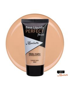 Base Liquida Perfect Face Marchetti - Bege Mel