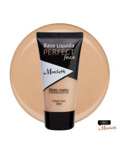 Base Liquida Perfect Face Marchetti - Bege Carmel 1