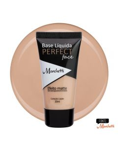 Base Liquida Perfect Face Marchetti - Bege Carmel 2