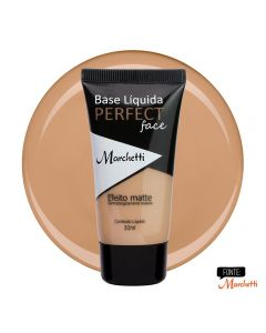 Base Liquida Perfect Face Marchetti - Bege Ambar