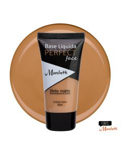 Base Liquida Perfect Face Marchetti - Bege Alaranjado