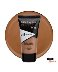 Base Liquida Perfect Face Marchetti - Bege Cacau