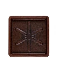 Base Quadrada 25X3cm Vasart - Rusty