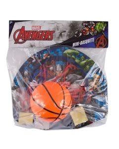 Basket Bola DY-104 com Tabela Avengers Etitoys - Azul