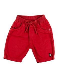 Bermuda de 1 a 3 Anos Sarja Cós Ribana Yoyo Kids Ruby Red