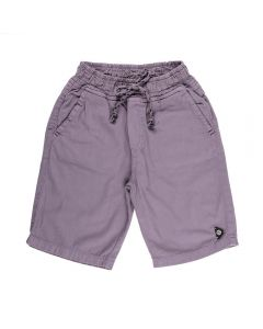 Bermuda de 4 a 10 Anos Sarja Jogger com Travete Hot Dog Cloud Burst