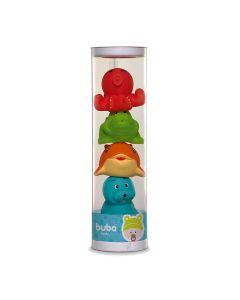 Bichinhos de Banho Aquático 4689 Buba Baby - Colorido