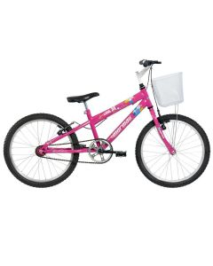 Bicicleta Aro 20 com Cesta Sweet Girl Mormaii - DIVERSOS