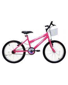 Bicicleta Aro 20 Mtb Star Girl Cairu - Rosa