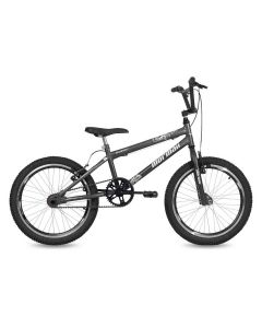Bicicleta Aro 20 V-Brake Mormaii Cross Energy - Chumbo