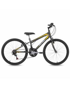 Bicicleta Aro 24 V-Brake Mormaii New Wave - Chumbo