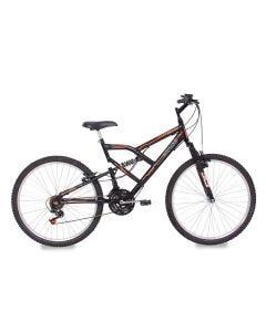 Bicicleta Aro 26 Full Fa 240 18V Preto Mormaii - Preto