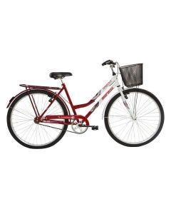 Bicicleta Aro 26 Soberana V-Brake Vermelho/Branco Mormaii - DIVERSOS