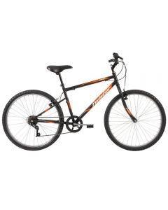 Bicicleta Aro 26 Twister Easy Caloi - Preto e Laranja