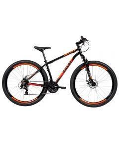 Bicicleta Aro 29 Vulcan Mountain Bike Caloi - Preto e Laranja