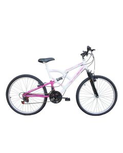 "Bicicleta Free Action Aro 26"" 18 Marchas FA240 Mormaii - Branca"