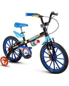 Bicicleta Infantil Aro 16 Tech Boys Nathor - Preto