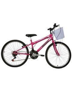 Bicicleta Mountain Bike Aro 24 21 Marchas Fantasy Mormaii - DIVERSOS