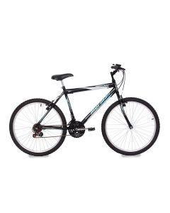 Bicicleta Mountain Bike Aro 26 18 Marchas Eden Mormaii - Preto