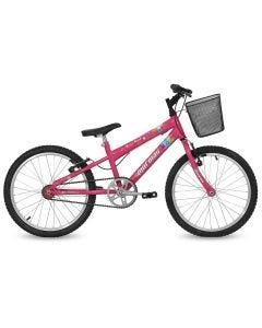 Bicicleta Next Mormaii Aro 20 com Cesta - Rosa