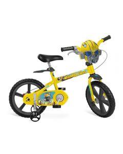 Bicicleta Transformers Aro 14 Bandeirante - Bumblebee