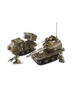 Bloco de Montar Esquadrão Anti-Bomba Multikids - BR909