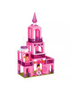 Blocos de Montar Castelo da Princesa Xalingo - ROSA
