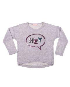 Blusa de 1 a 3 Anos Tricot Leve Yoyo Kids Mescla.Clr