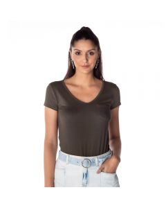 Blusa Feminina Thirty List Vrd.Slv