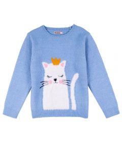 Blusa Tricot Felpudo de 4 a 10 Anos Marmelada Nuvem