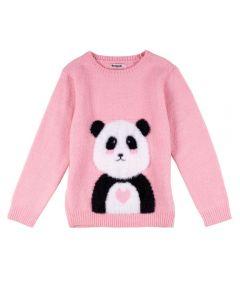 Blusa Tricot Felpudo de 4 a 10 Anos Marmelada Gloss