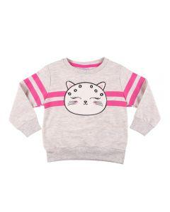 Blusão de 1 a 3 Anos Moletom Cat Fakini