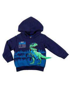Blusão de 1 a 3 Anos Moletom Dino Fakini