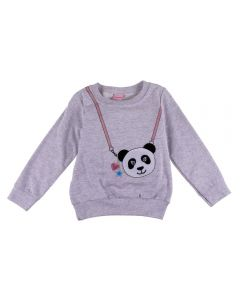 Blusao de 1 a 3 Anos Moletom Panda Yoyo Kids