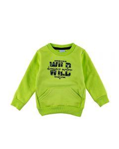 Blusão de Bebê Moletom Wild Yoyo Baby Lima