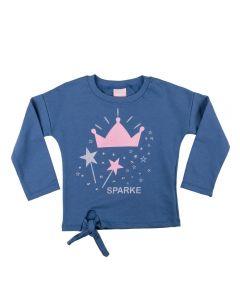Blusão Infantil Moletom Star Yoyo Kids Marinho