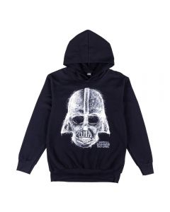 Blusão Masculino Adulto Darth Vader Fakini Preto