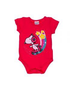 Body de Bebê Snoopy Peanuts Babaloo