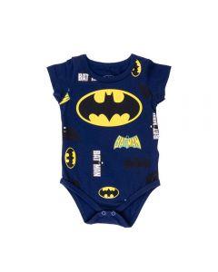 Body de Bebê Batman Dc Comics Marinho Escuro