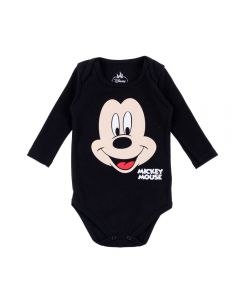 Body de Bebê do Mickey Disney Preto
