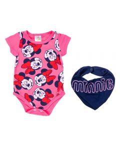 Body de Bebê Minnie + Bandana Disney Bailarina