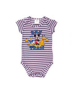 Body de Bebê Turma do Mickey Disney Marinho