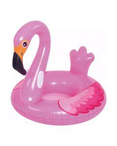 Boia Inflável Formato Flamingo Master Beach - Rosa